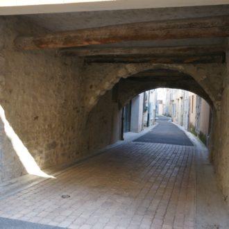 Rue au coeur des remparts